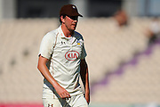 Surrey's Mark Footitt during the Specsavers County Champ Div 1 match between Hampshire County Cricket Club and Surrey County Cricket Club at the Ageas Bowl, Southampton, United Kingdom on 18 July 2016. Photo by Graham Hunt.