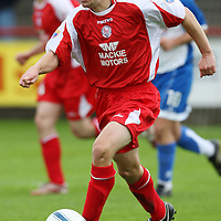 Brechin FC...Season 2007-08<br /> Darren Smith<br /> <br /> Picture by Graeme Hart.<br /> Copyright Perthshire Picture Agency<br /> Tel: 01738 623350  Mobile: 07990 594431