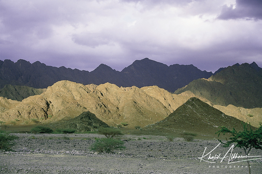 Western Hajar Mountains, in the way to wilayat of Rustaq