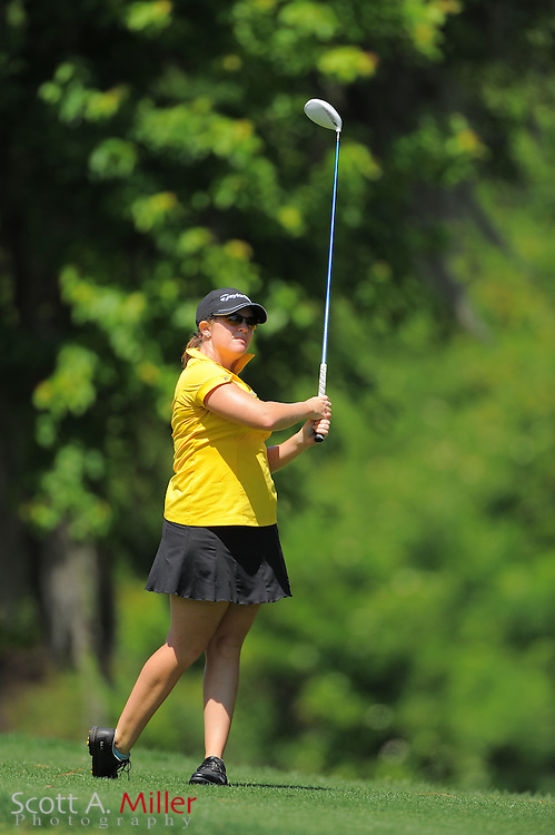 Stephanie Connelly during the final round of the Symetra Tour's Florida's Natural Charity Classic at the Lake Region Yacht and Country Club on March 25, 2012 in Winter Haven, Fla. ..©2012 Scott A. Miller.