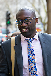 Kwasi Afrifa outside the Central London Employment Tribunal on Kingsway, Holborn where he is suing former employer Goldman Sachs for discriminating against him for having ADHD. London, February 12 2019.