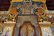 Entrance of Devale near the Dalada Maligawa in Kandy.