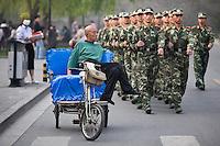 TUK TUK DRIVER, BEIJING, CHINA