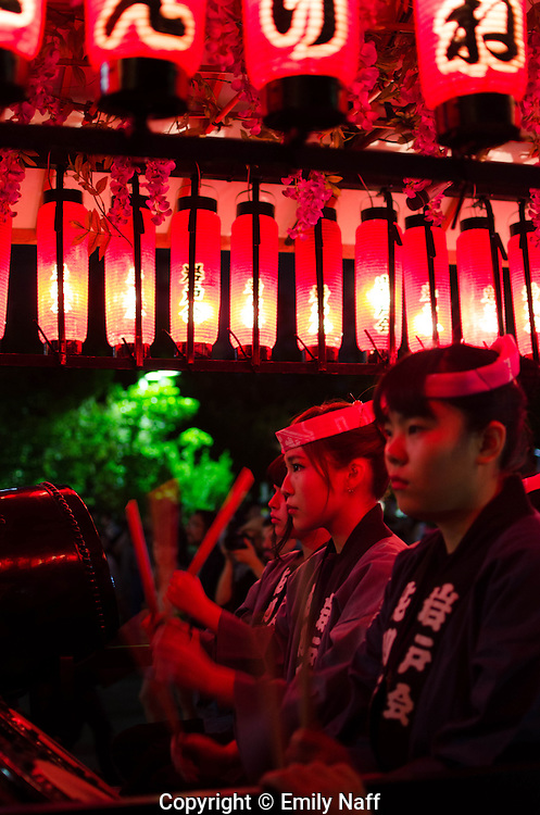 Festival in Asakusa, Tokyo, May 2014
