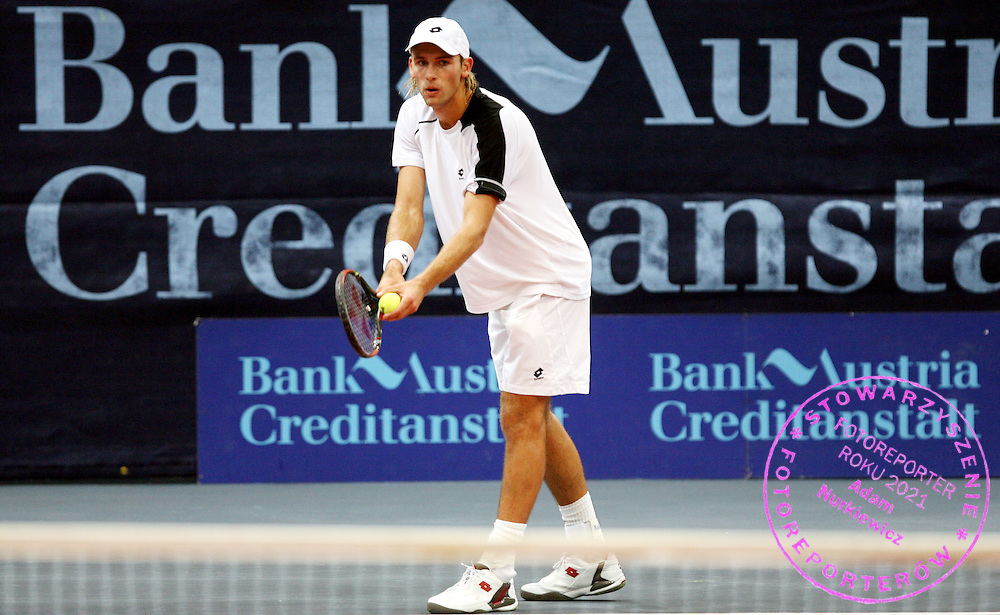 GEPA-0810066037 - WIEN,AUSTRIA,08.OKT.06 - TENNIS - BA-CA Tennis Trophy 2006, ATP, Qualifikation. Bild zeigt Lukasz Kubot (POL). Foto: GEPA pictures/ Philipp Schalber..FOT. GEPA / WROFOTO..*** POLAND ONLY !!! ***