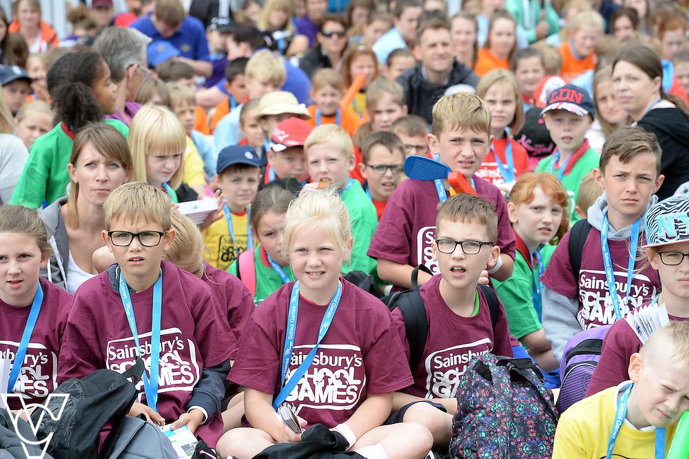 Sainsbury School Games - Lincolnshire Summer Festival.<br /> <br /> Date: July 8, 2015