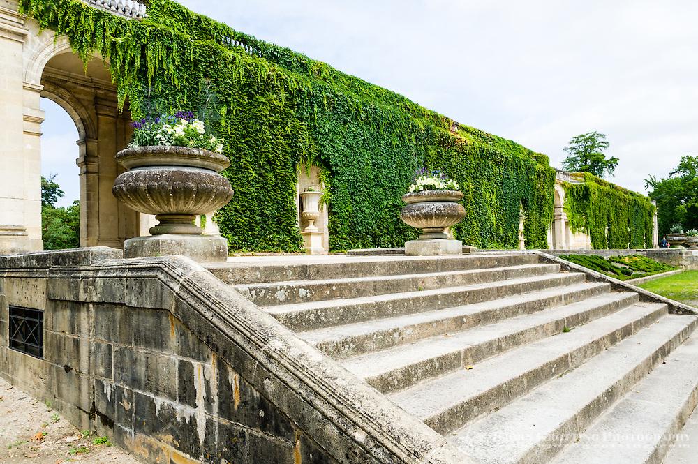 France, Bordeaux. Le Jardin Publique.