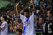 DESCRIZIONE : Sassari Lega A 2013-14 Dinamo Sassari - Pallacanestro Cantù<br /> GIOCATORE :Brian Sacchetti<br /> CATEGORIA :Esultanza<br /> SQUADRA : Dinamo Sassari<br /> EVENTO : Campionato Lega A 2013-2014 <br /> GARA : Dinamo Sassari - Pallacanestro Cantù<br /> DATA : 20/10/2014<br /> SPORT : Pallacanestro <br /> AUTORE : Agenzia Ciamillo-Castoria/M.Turrini<br /> Galleria : Lega Basket A 2013-2014  <br /> Fotonotizia : Sassari Lega A 2013-14 Dinamo Sassari - Pallacanestro Cantù<br /> Predefinita :