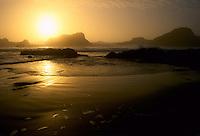 Seal Rocks Sunset; Oregon