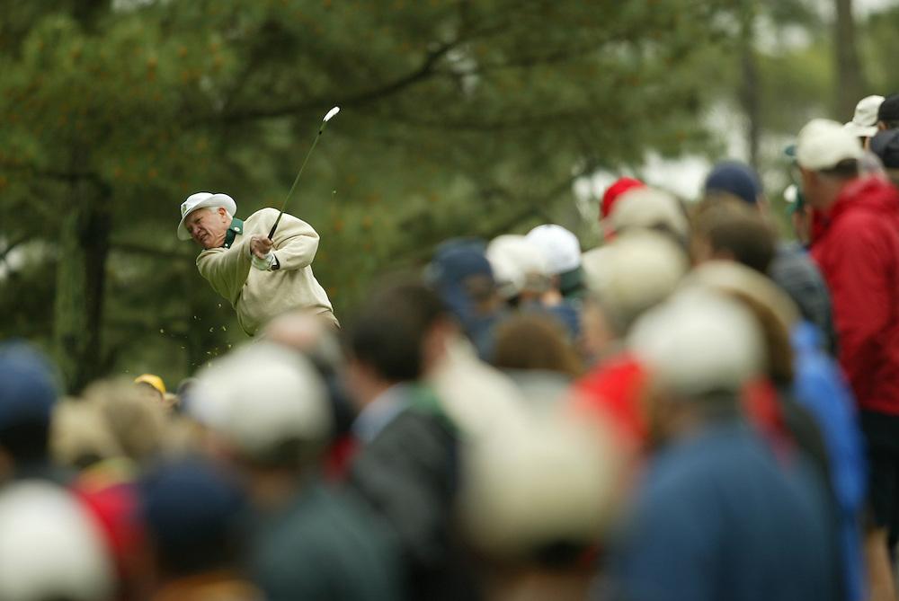 Bob Goalby..2003 Masters..Par 3 Contest..Augusta National GC..Augusta, GA..April 9 2003..Photograph by Darren Carroll