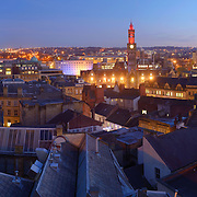 Bradford panoramic city skyline