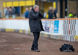 Berwick Rangers manager John Brownlie at 0-2. Cove Rangers have become the SPFL's newest side and ended Berwick Rangers' 68-year stay in Scotland's senior leagues by earning a League Two place. Berwick Rangers 0 v 3 Cove Rangers, League Two Play-Off Second Leg played 18/5/2019 at Berwick Rangers Stadium Shielfield Park.