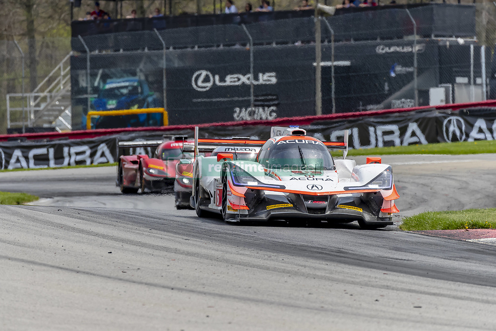 May 6, 2018 - Lexington, Ohio, United States of America - The Acura Team Penske Acura car races through the turns during the Acura Sports Car Challenge race at the Mid-Ohio Sports Car Course in Lexington, Ohio. (Credit Image: © Walter G Arce Sr Asp Inc/ASP via ZUMA Wire)