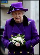 NOV 21 2013 The Queen visits Southwark Cathedral