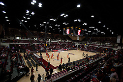 Dec 20, 2011; Stanford CA, USA; General view of Maples Pavilion before the game between the Stanford Cardinal and the Tennessee Lady Volunteers.  Mandatory Credit: Jason O. Watson-US PRESSWIRE