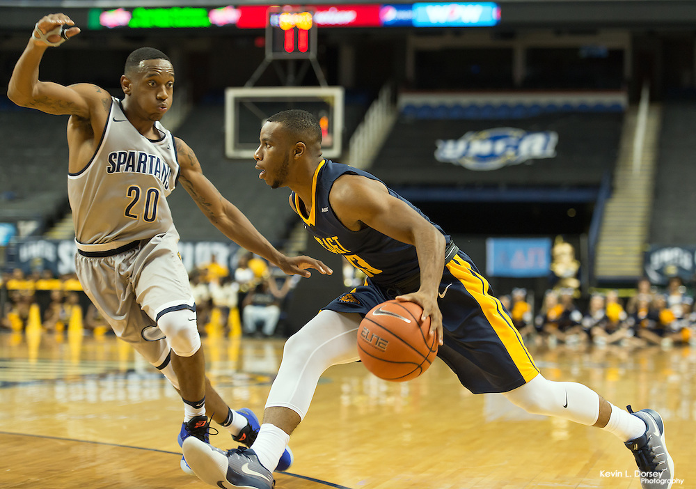 2016 A&T Men's Basketball at UNCG Spartans