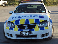 Paraparaumu-Police chase ends on beach