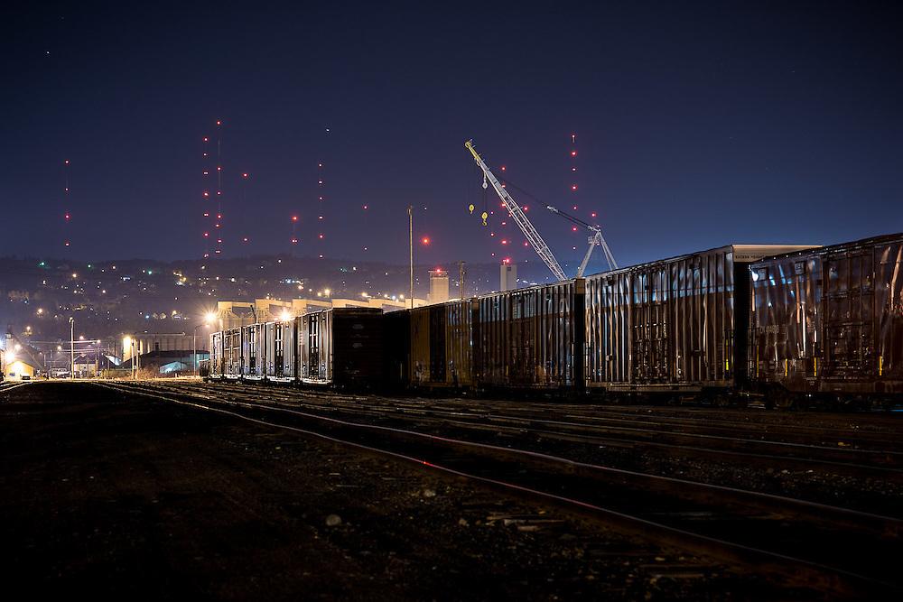 Port Terminal, Duluth, MN.