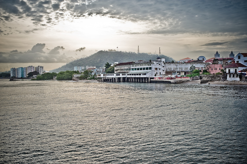 The view South from Casco Viejo.