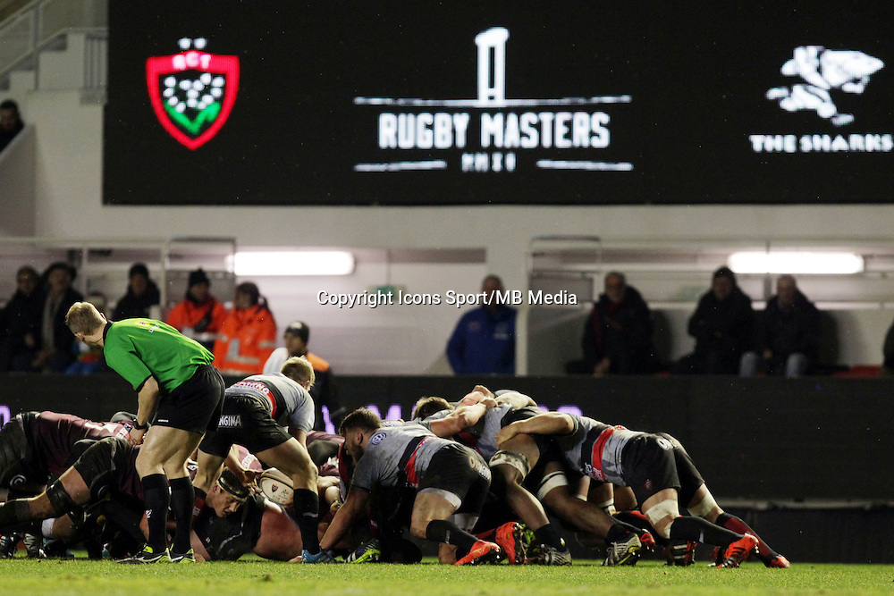 Action - 05.02.2015 - Rugby Masters - Toulon / Sharks<br />Photo : JC Magnenet / Icon Sport