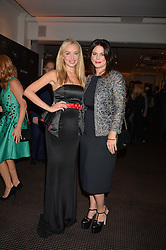 Left to right, Noelle Reno and Eleni Renton at the Debrett's 500 Party recognising Britain's 500 most influential people, held at BAFTA, 195 Piccadilly, London England. 23 January 2017.