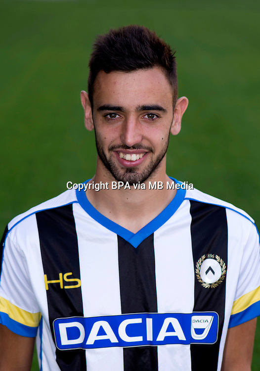 Italian League Serie A -2015-2016 / <br /> ( Udinese Calcio ) - <br /> Bruno Miguel Borges Fernandes &quot; Bruno Fernandes &quot;