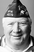 Reverend Dr. Barry M. Walker<br /> Army<br /> Lt.Col (O-5)<br /> Chaplain<br /> 1964-1996<br /> Korea, Vietnam, Persian Gulf, Egypt, Honduras<br /> <br /> Veterans Portrait Project<br /> Louisville, KY<br /> VFW Convention <br /> (Photos by Stacy L. Pearsall)