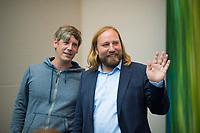 DEU, Deutschland, Germany, Berlin, 04.09.2017: Dr. Anton Hofreiter, Vorsitzender der Bundestagsfraktion von B90/Die Grünen, vor einer Sitzung der Grünen-Bundestagsfraktion.