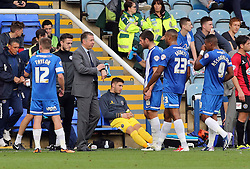 Peterborough United Manager, Darren Ferguson orders instructions - Photo mandatory by-line: Joe Dent/JMP - Tel: Mobile: 07966 386802 19/10/2013 - SPORT - FOOTBALL - London Road Stadium - Peterborough - Peterborough United V Shrewsbury Town - Sky Bet League One