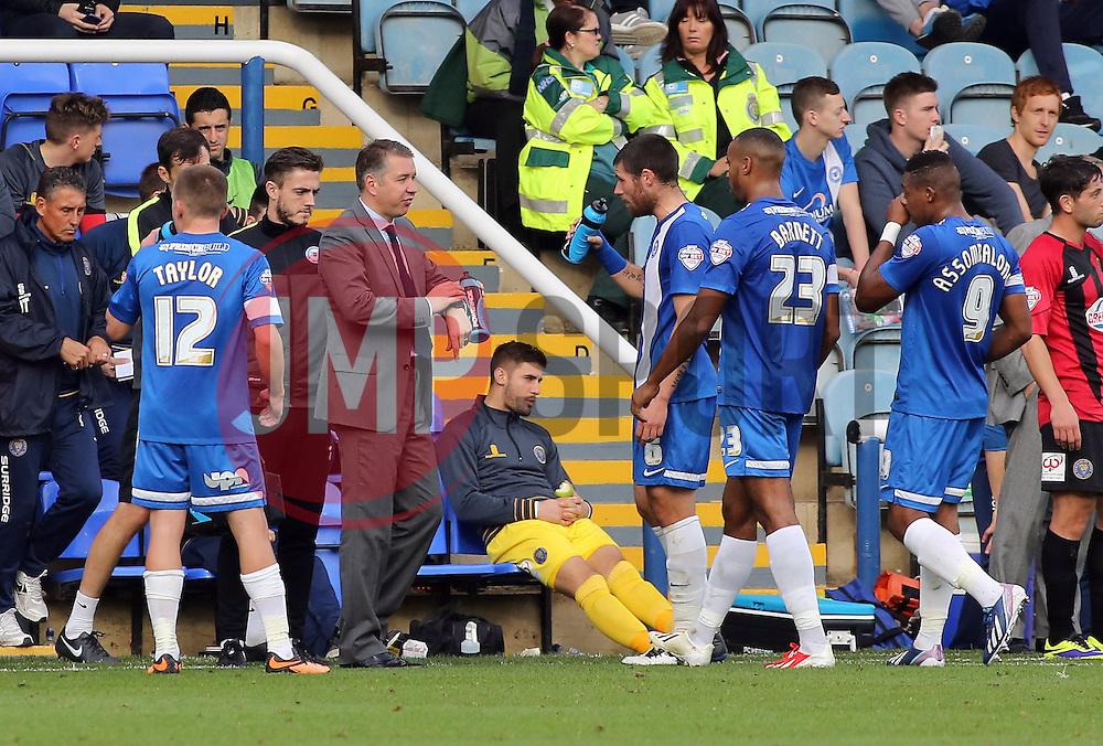Peterborough United Manager, Darren Ferguson orders instructions - Photo mandatory by-line: Joe Dent/JMP - Tel: Mobile: 07966 386802 19/10/2013 - SPORT - FOOTBALL - London Road Stadium - Peterborough - Peterborough United V Shrewsbury Town - Sky Bet League One