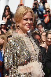 Nicole Kidman arriving on the red carpet of 'How to Talk to Girls at Parties' screening held at the Palais Des Festivals in Cannes, France on May 21, 2017 as part of the 70th Cannes Film Festival. Photo by Nicolas Genin/ABACAPRESS.COM