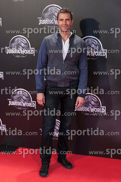 11.06.2015, Madrid, ESP, Jurassic World, Premiere, im Bild Fernando Gil // attends // to the Jurassic World film premiere in Madrid, Spain on 2015/06/11. EXPA Pictures &copy; 2015, PhotoCredit: EXPA/ Alterphotos/ Victor Blanco<br /> <br /> *****ATTENTION - OUT of ESP, SUI*****