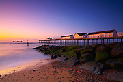 Great Britain England East Anglia Heritage Coast Southwold Suffolk Pier Morning Sunrise