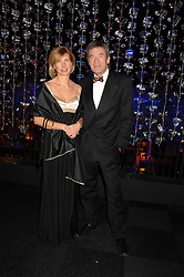 TV presenter TIFF NEEDELL and his wife PATSY at La Dolce Vita Christmas Ball in aid of DeBRa held at Battersea's Evolution, Battersea Park, London on 12th December 2007.<br /><br />NON EXCLUSIVE - WORLD RIGHTS