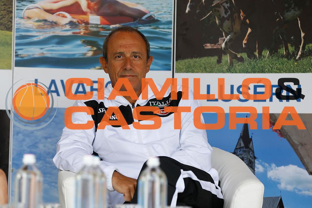 Ettore Messina<br /> Raduno Nazionale Maschile Senior<br /> Raduno Giorno 6<br /> Conferenza Stampa<br /> Folgaria 27/07/2017<br /> Foto Ciamillo-Castoria/ A.Gilardi