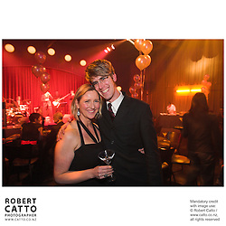 Delia Shanly;Robert Catto at the Film Wellington 10th Anniversary Celebration at the Front Room, Wellington, New Zealand.<br />