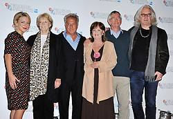 Quartet photocall with Dustin Hoffman, Billy Connolly, Pauline Collins, Sir Tom Courtenay, Sheridan Smith, ahead of tonight's London Film Festival screening of comedy drama about four ageing opera singers. The Empire Cinema, London, United Kingdom, October 15, 2012. Photo by Nils Jorgensen / i-Images.