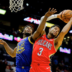 10-28-2019 Golden State Warriors at New Orleans Pelicans