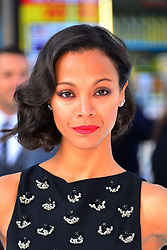 Zoe Saldana during the International Film Premiere for Star Trek Into Darkness, The Empire Cinema,  London, UK, on 02 May 2013, 03 May 2013. Photo by:  Nils Jorgensen / i-Images