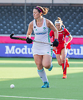 ANTWERPEN -  Ireland-Russia (3-2) . Belfius Eurohockey Championship (women) hockey. Roisin Upton (Irl)   WSP/ KOEN SUYK