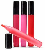 yves saint laurent lipstick in four colors