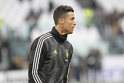 May 3, 2019 - Turin, Piedmont, Italy - Cristiano Ronaldo (Juventus FC) before the Serie A football match between Juventus FC and Torino FC at Allianz Stadium on May 03, 2019 in Turin, Italy..Final results: 1-1. (Credit Image: © Massimiliano Ferraro/NurPhoto via ZUMA Press)