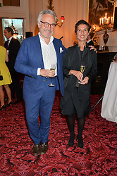 STEPHEN and FLO BAYLEY at the Audi Ballet Evening at The Royal Opera House, Covent Garden, London on 23rd April 2015.