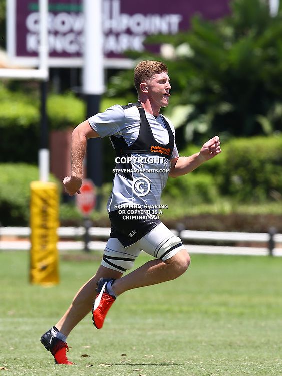 DURBAN, SOUTH AFRICA - JANUARY 17: Jacques Vermeulen during the Cell C Sharks training at Growthpoint Kings Park on January 17, 2017 in Durban, South Africa. (Photo by Steve Haag/Gallo Images)