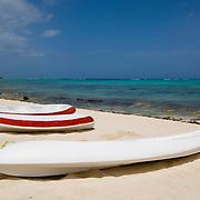 Beach at Akumal..Akumal, Quintana Roo..Mexico.