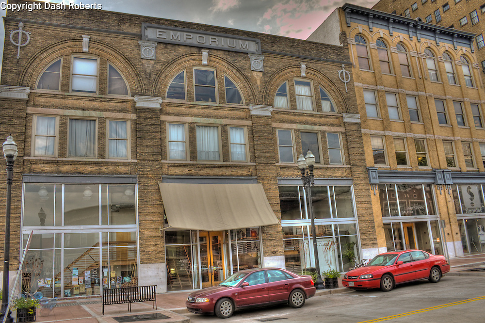 The Emporium Building in downtown Knoxville, Tennessee is a mixed used commercial & residential development located on the 100 block of Gay Street.