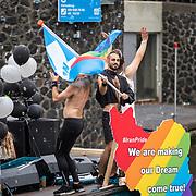 NLD/Amsterdam/20190803 - Gaypride 2019, Iranpride boot