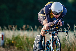 Steven Lammertink of Lotto NL - Jumbo, Dutch Individual Time Trial Nationals Men Elite, Stokkum, Montferland, The Netherlands, 21 June 2017. Photo by Pim Nijland / PelotonPhotos.com | All photos usage must carry mandatory copyright credit (Peloton Photos | Pim Nijland)