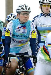 03-04-2006 WIELRENNEN: COURSE DOTTIGNIES: BELGIE<br /> Vera Koedooder<br /> ©2006-WWW.FOTOHOOGENDOORN.NL