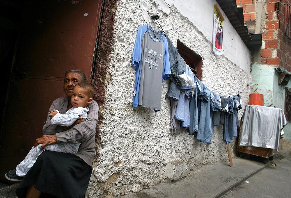 Detalle del barrio Los Erasos en San Bernardino, Caracas. (ivan gonzalez)